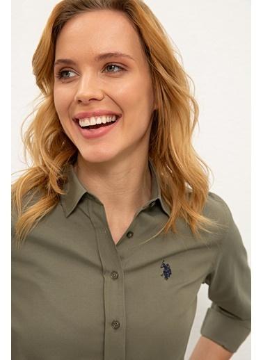 U.S. Polo Assn. Gömlek Haki